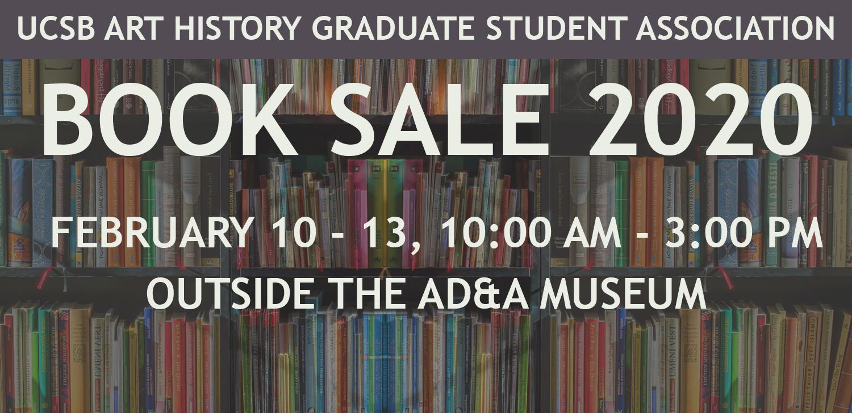 Art History Graduate Student Association (AHGSA) Winter 2020 Book Sale