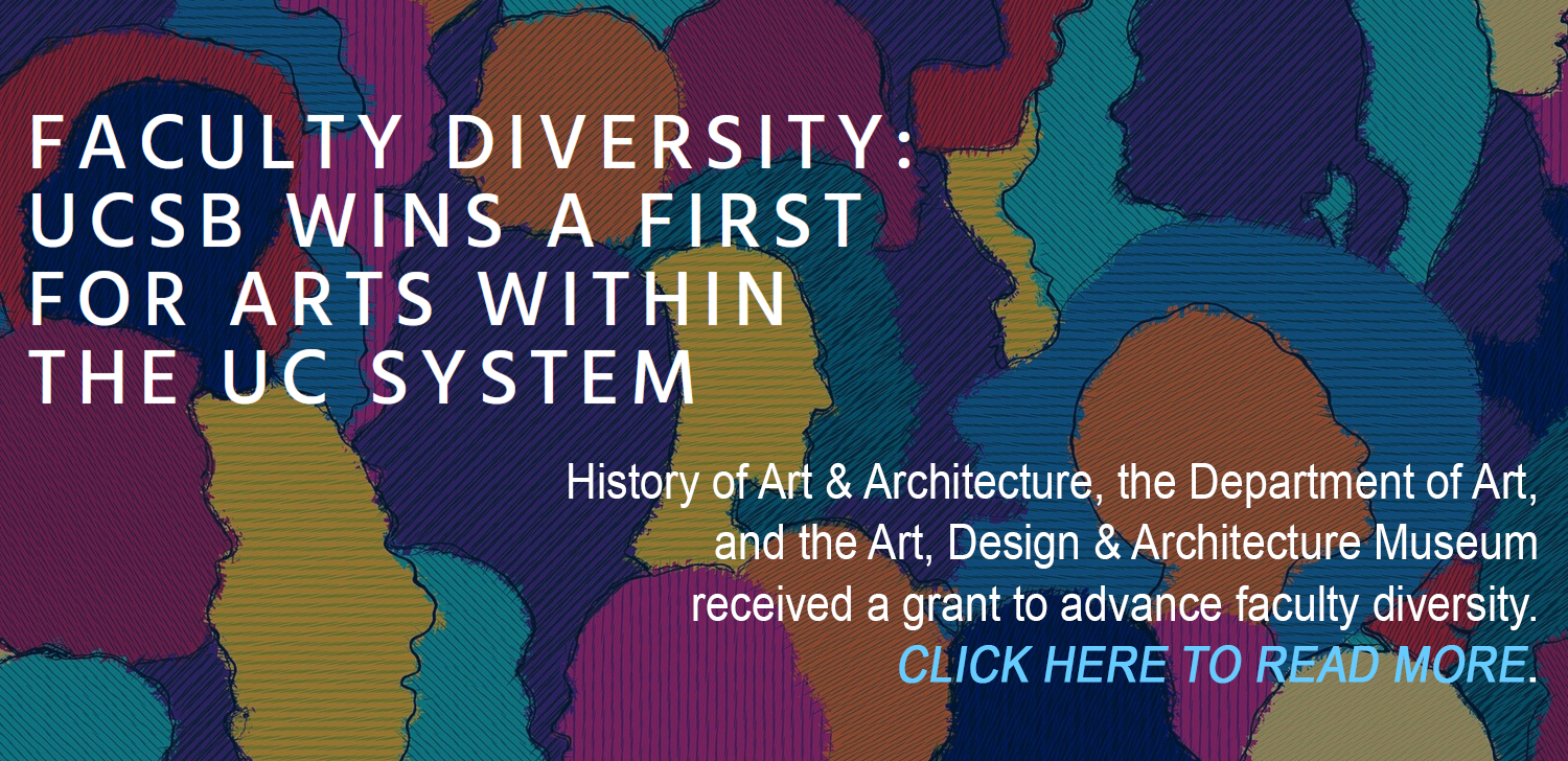 UCSB Arts Wins a First in Faculty Diversity