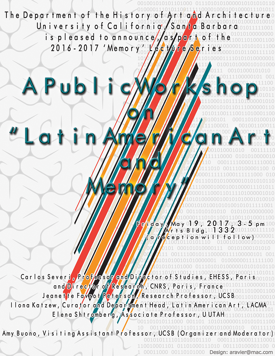 "A Public Workshop on ""Latin American Art & Memory"""
