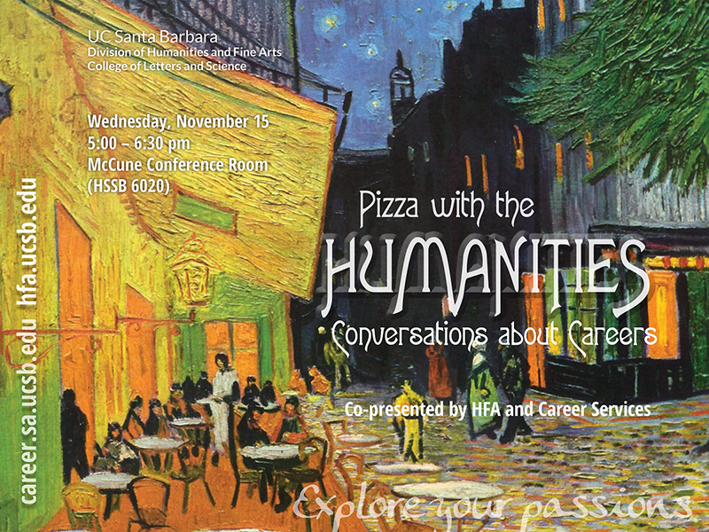 Pizza with the Humanities: Conversations about Career
