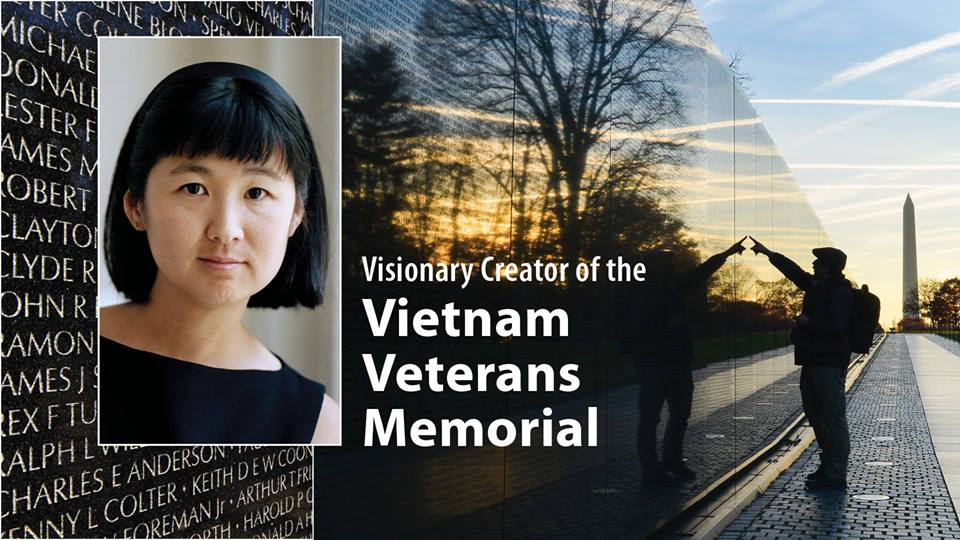 Maya Lin An Evening with the Visionary Creator of the Vietnam Veterans Memorial