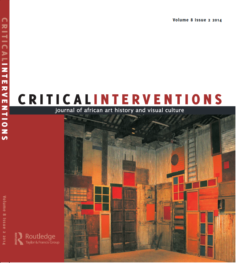 Sylvester Okwunodu Ogbechie, ed. Critical Interventions 9, no. 1 (2015).