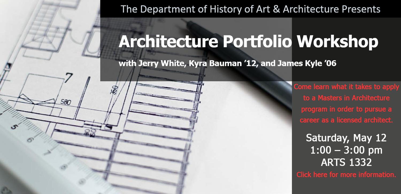 Architecture Portfolio Workshop 2018